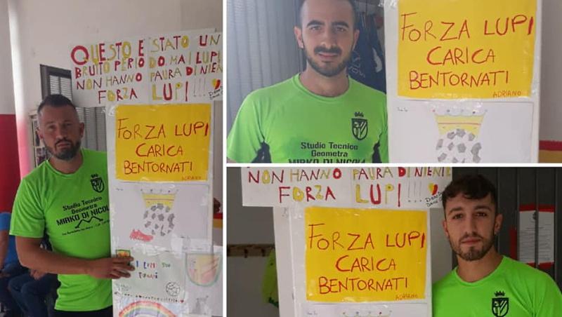 Una sorpresa speciale per i calciatori della squadra di San Benedetto