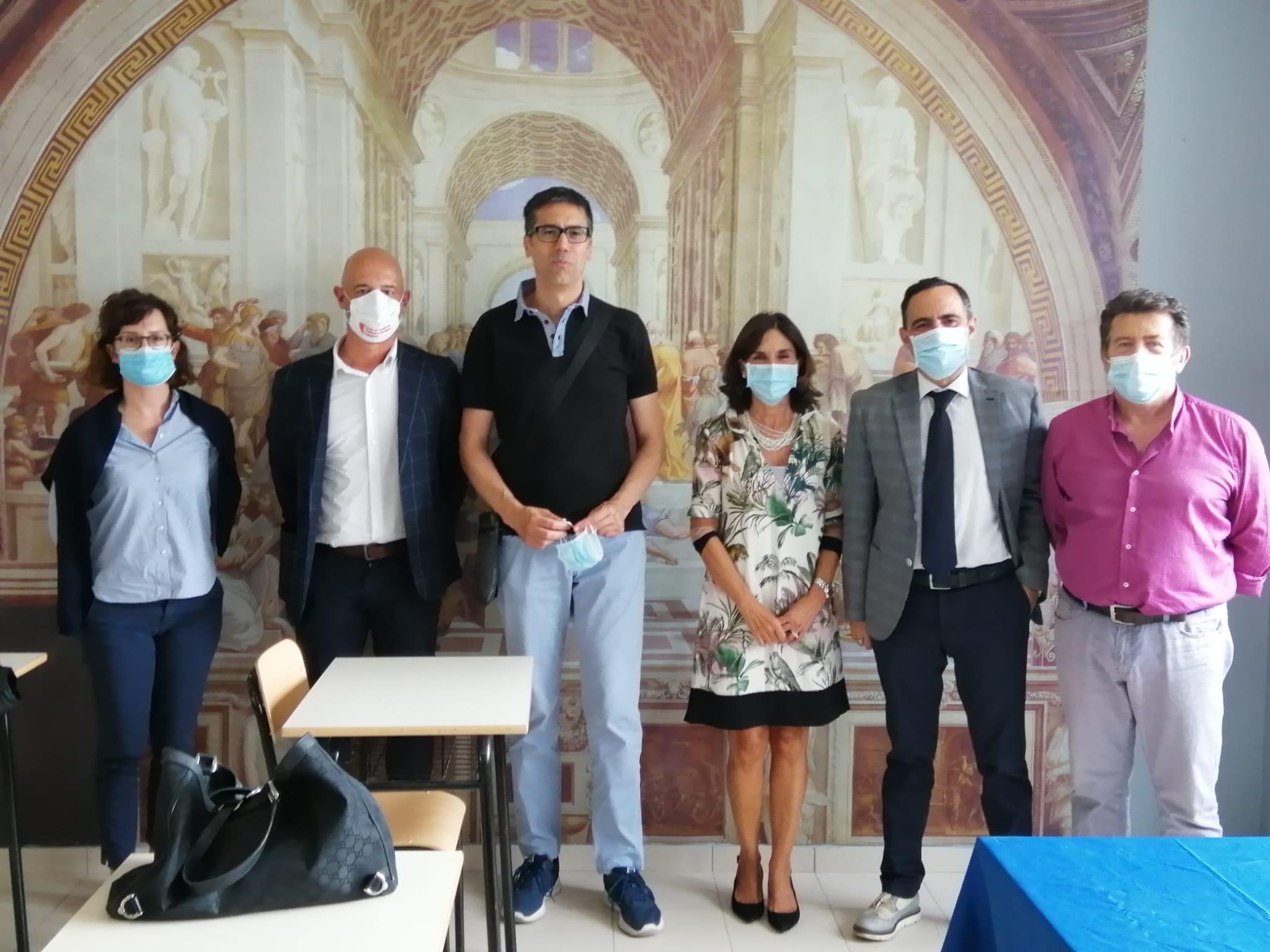 """Presentato il progetto della nuova Aula Magna del Liceo Scientifico """"M. V. Pollione"""" di Avezzano, lavori per oltre un milione di euro"""