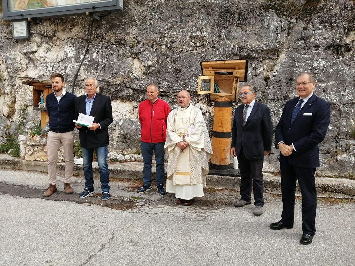 Inaugurata la mini biblioteca al Santuario della Pietraquaria