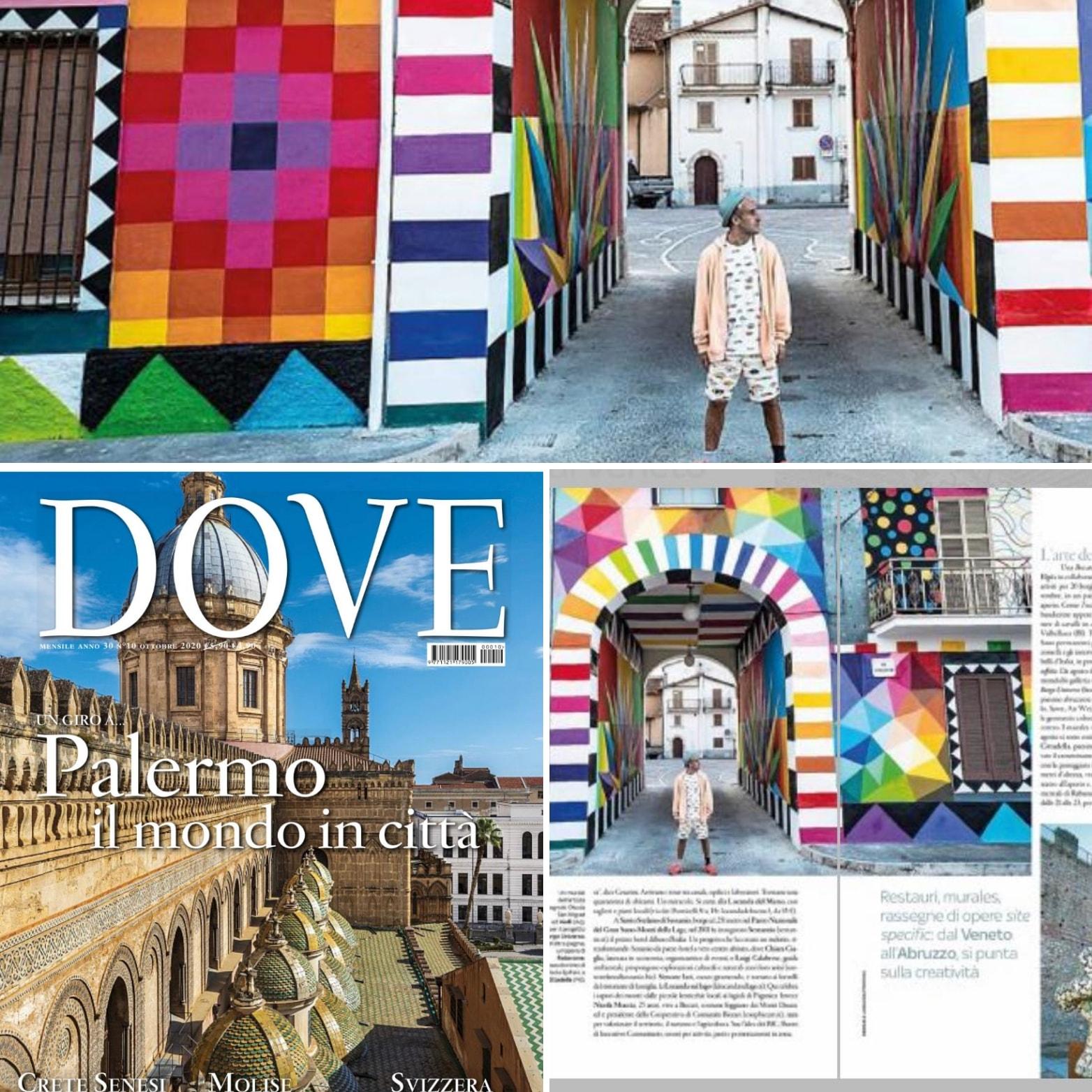 """Aielli e Borgo Universo sul magazine dei viaggi """"Dove"""""""