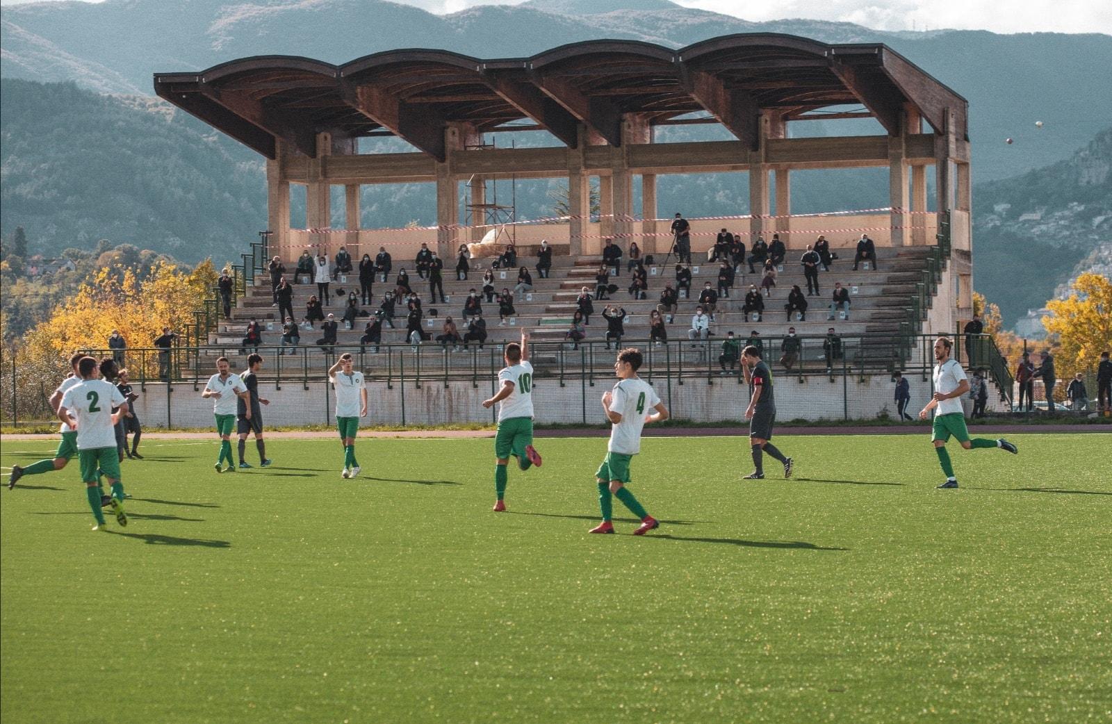 """Campionato di promozione, il Sindaco Giovagnorio: """"Ora il Tagliacozzo può giocare in uno degli stadi più belli d'Abruzzo: il """"Luca Poggi"""" in località Sant'Onofrio"""""""