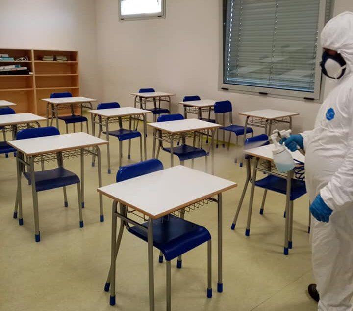 Sanificata la scuola media di Magliano de' Marsi