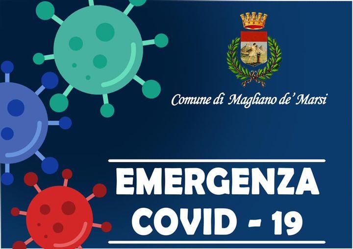 Nuovo caso di positività al Covid-19 a Magliano de' Marsi. Il cittadino era ricoverato da tempo in una struttura riabilitativa