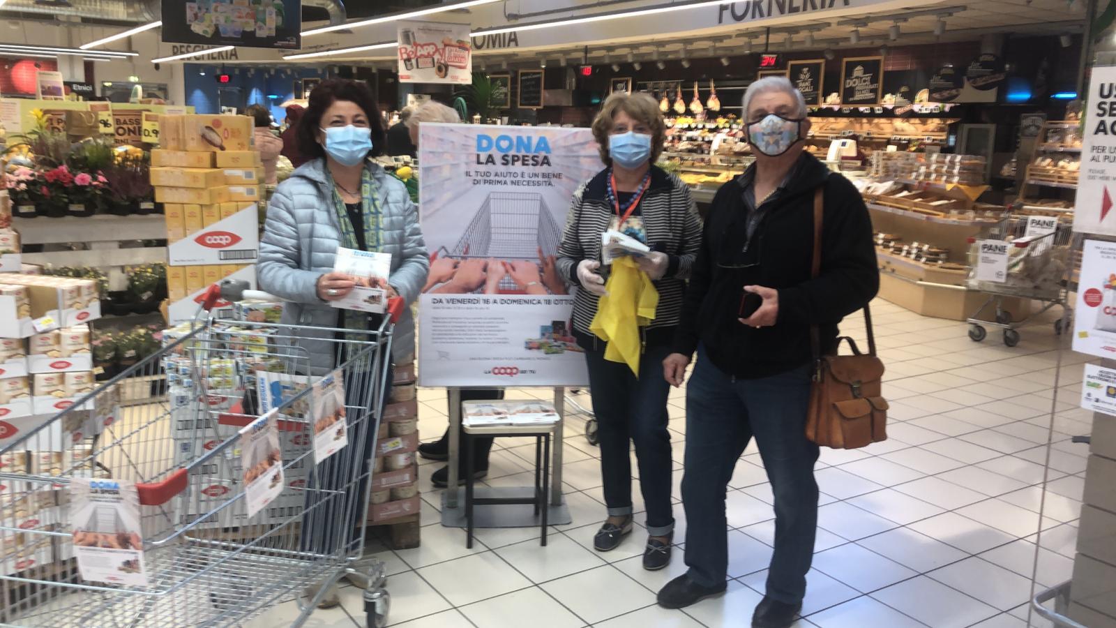 Il Gruppo Coop Centro Italia promuove una colletta alimentare straordinaria per le famiglie in difficoltà