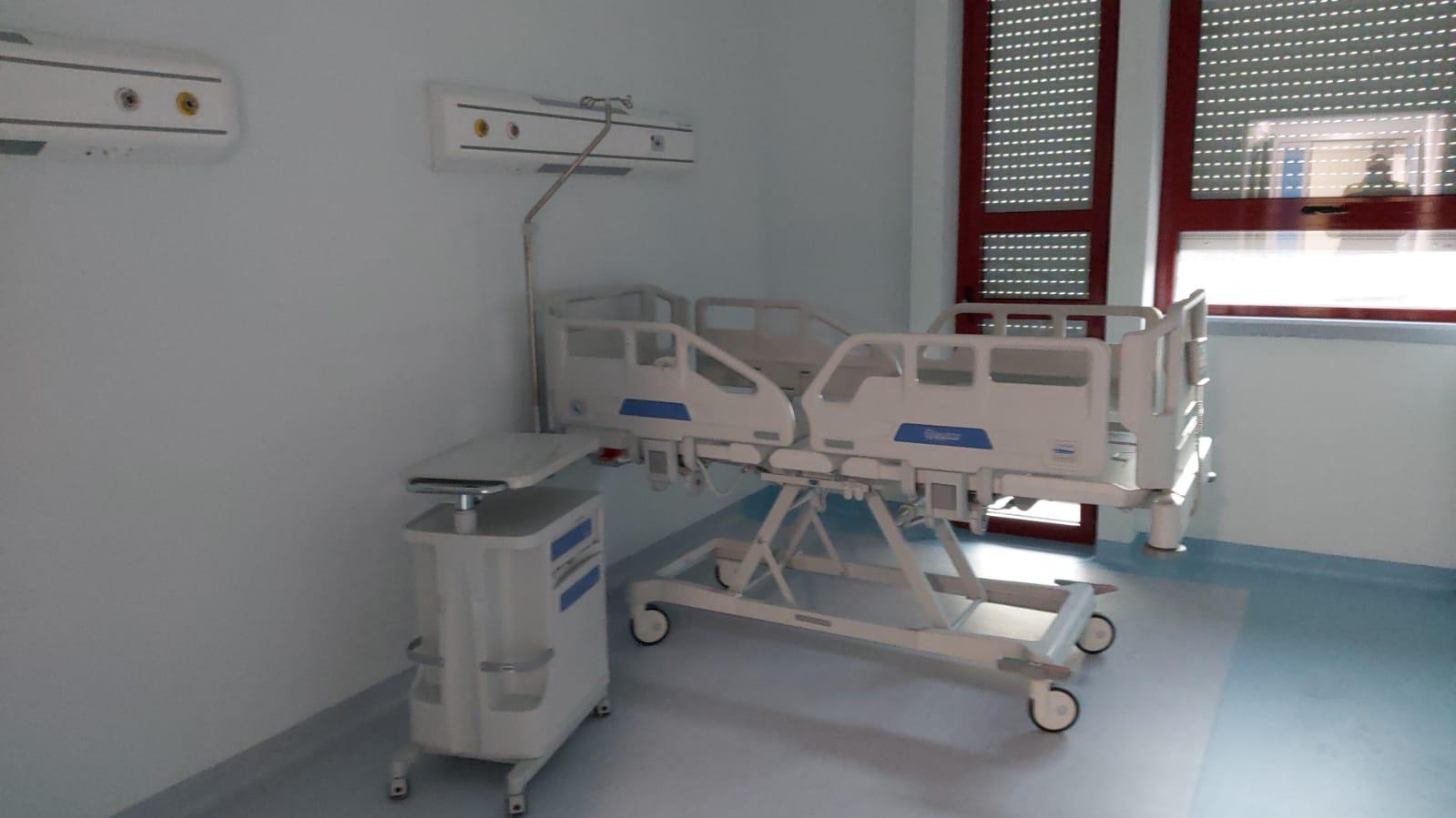 L'Aquila, emergenza Covid: aperta la nuova palazzina delta sette per far fronte all'impennata di contagi