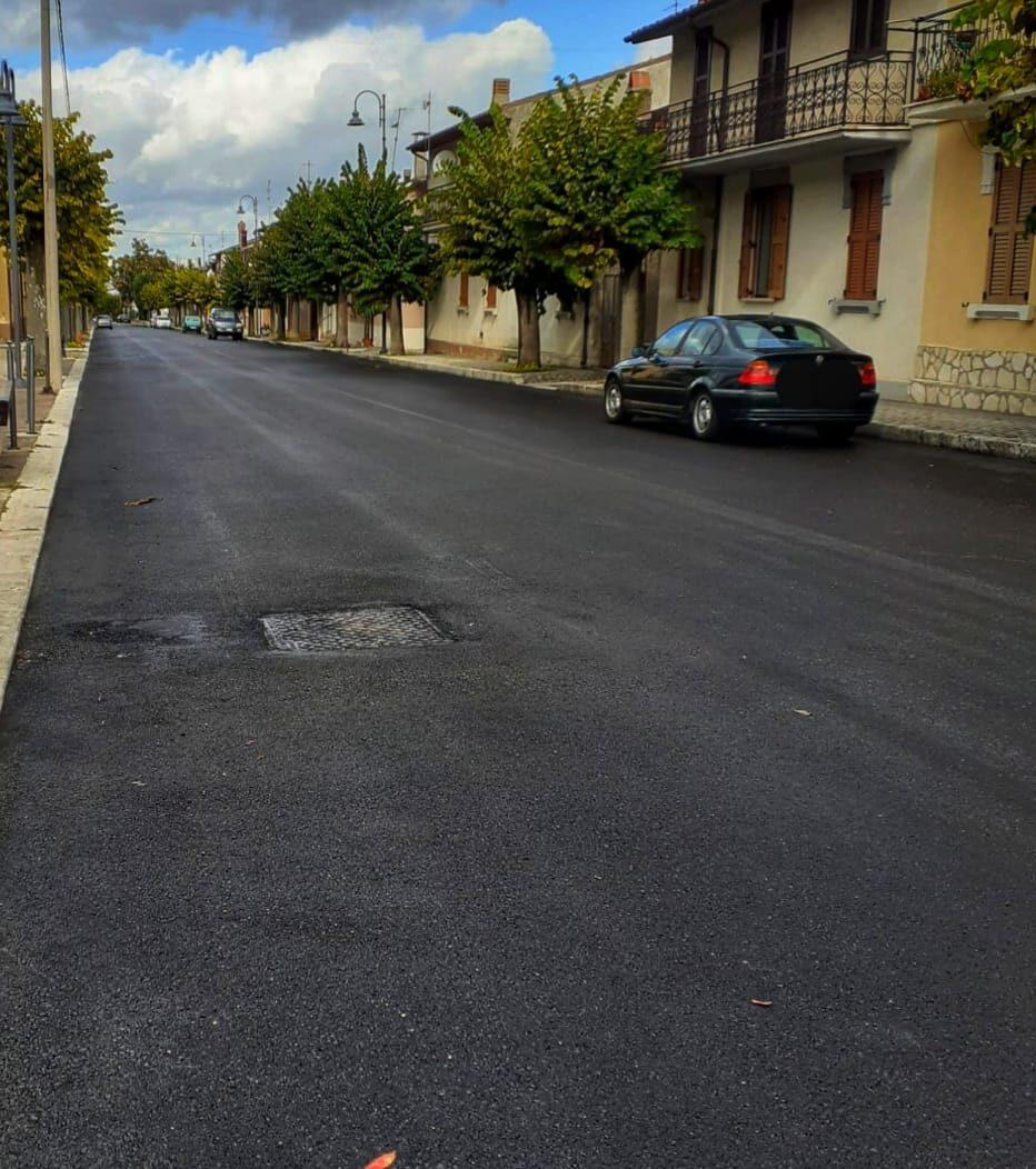Villavallelonga, conclusi i lavori di rifacimento del manto stradale provinciale