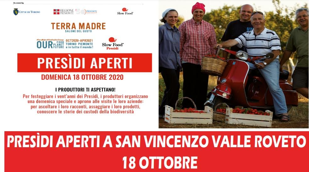 Iniziativa della Comunità Agricola Valle Roveto per far conoscere l'Olio del Presidio Slow Food