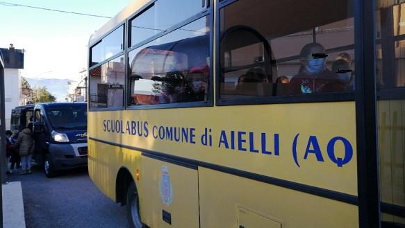 Aielli implementa con un ulteriore mezzo il trasporto pubblico dei ragazzi