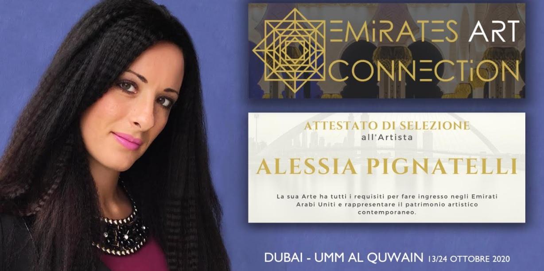 Dalla Casa Bianca al Vaticano, la marsicana Alessia Pignatelli arriva anche negli Emirati Arabi Uniti