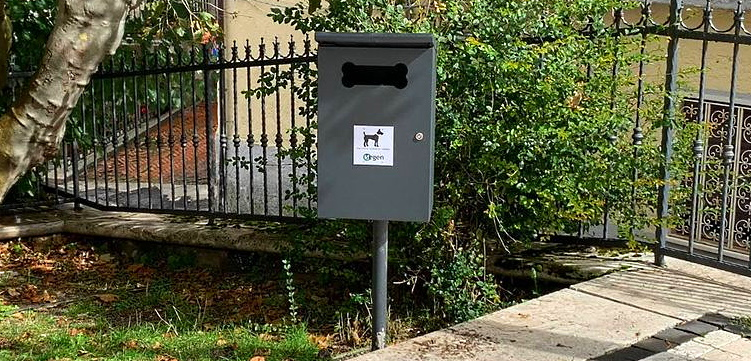 Anche a Meta è stata installata la dog station
