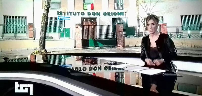 """Il TG1 dedica un servizio al focolaio Covid-19 della RSA """"Don Orione"""""""