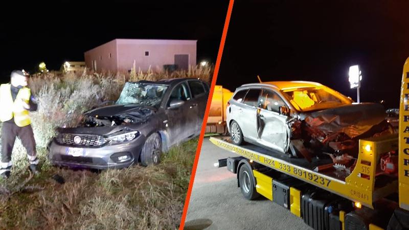 """Grave incidente sulla SP 20 Marruviana, tre veicoli coinvolti. Il sindacoD'Orazio: """"Strada maledetta, ma dopo oltre sette anni di solleciti non se ne viene a capo"""""""