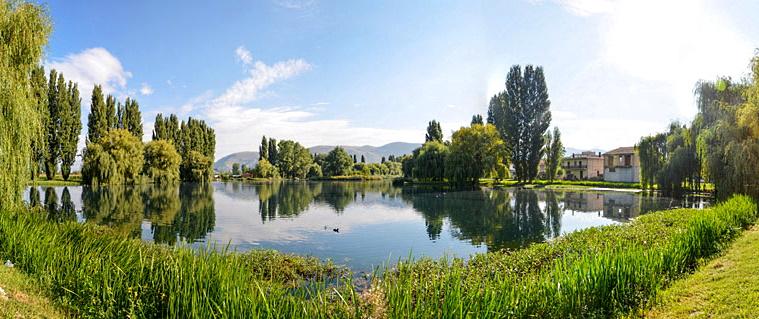 Conclusi lavori per il pozzo artesiano nell'area Laghetto di Ortucchio