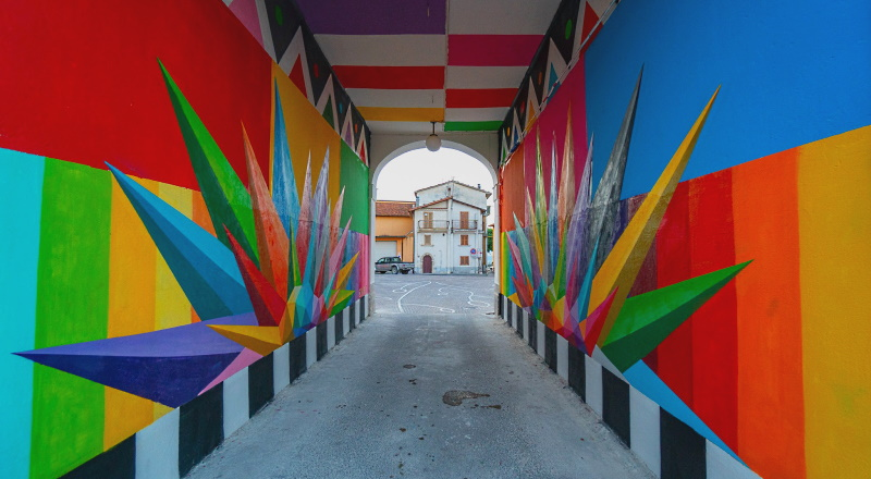 Una legge sulla Street Art per valorizzare i piccoli e grandi comuni abruzzesi