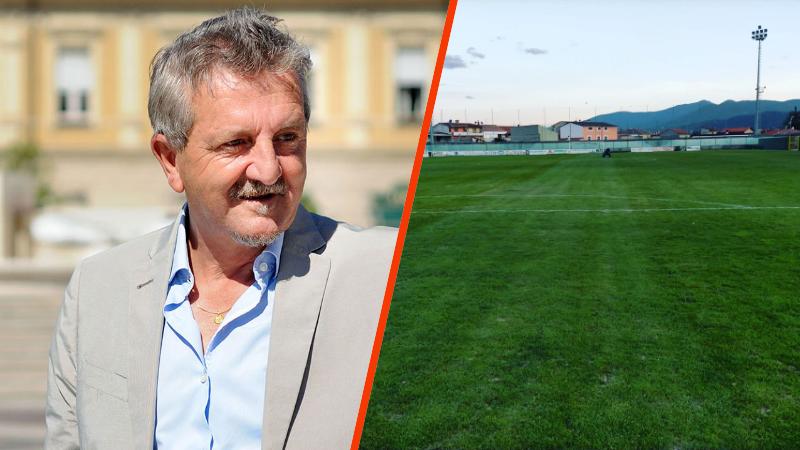 Il sindaco Di Pangrazio domenica sarà allo stadio Dei Marsi per presentare la sua squadra