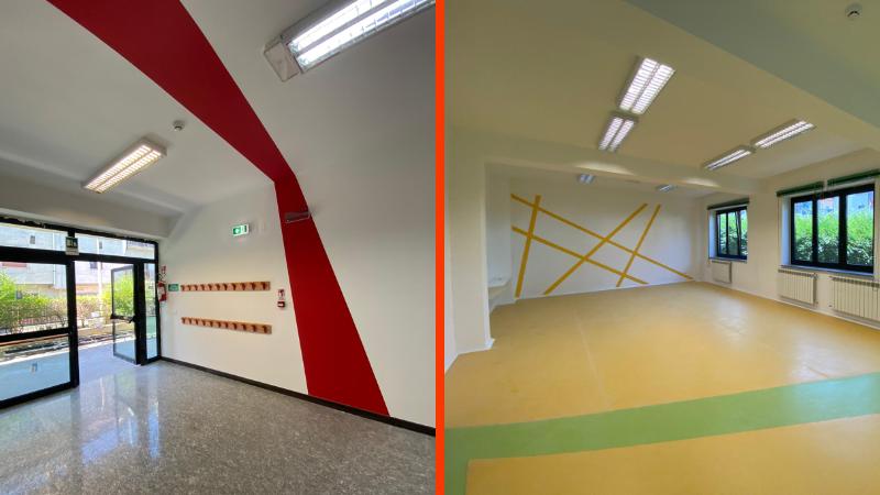 L'Amministrazione Giovagnorio riconsegna ai cittadini l'asilo M. Montessori di Tagliacozzo