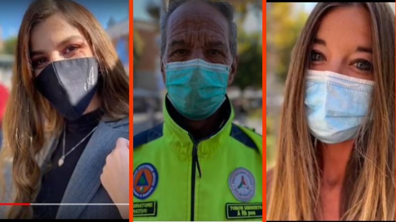 """""""Portala sempre con te, indossarla non è solo un obbligo ma un grande gesto di solidarietà"""", è la campagna di sensibilizzazione sull'uso della mascherina realizzata dal noto fotografo marsicano Antonio Oddi"""