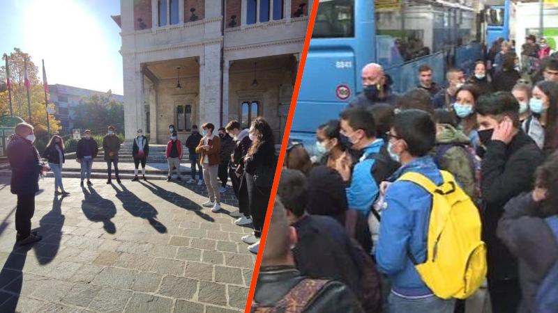 Gli studenti delle scuole superiori di Avezzano hanno incontrato i referenti di TUA e il Sindaco Di Pangrazio