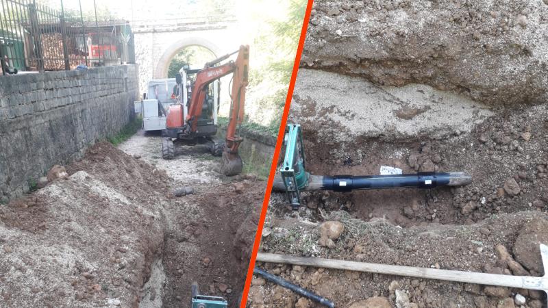 """Al via i lavori per fornire di Gas Metano la Località """"Cemento"""" di Balsorano"""