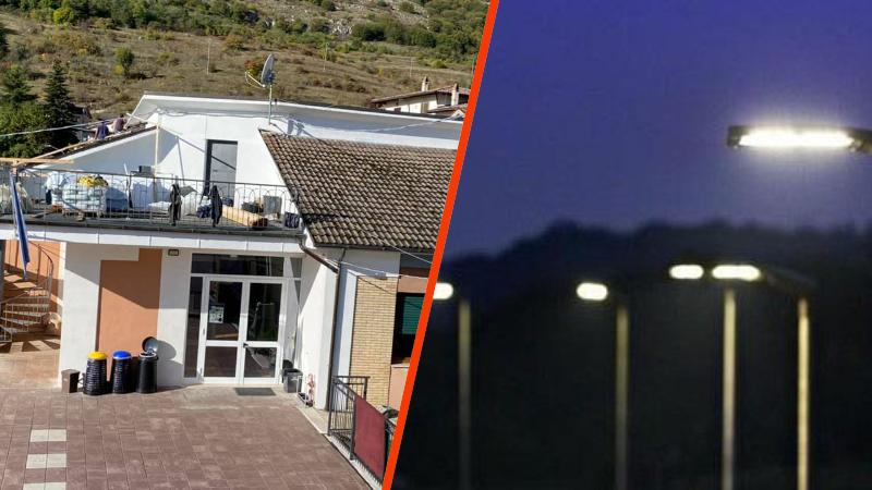 Sante Marie, lavori sul tetto della scuola elementare e riqualificazione della pubblica illuminazione delle strade cittadine