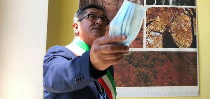Roberto D'Amico, sindaco di Morino, positivo al Covid-19