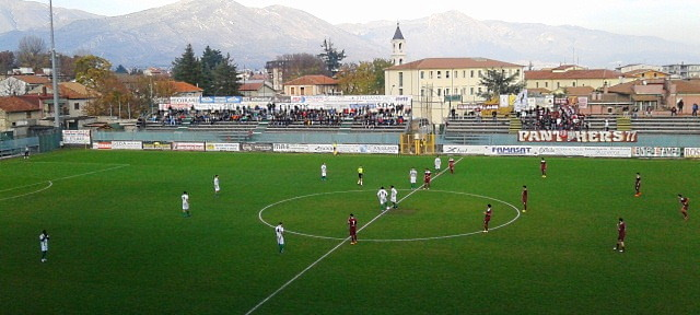 Partita di calcio Avezzano - L'Aquila del 6 giugno: le misure di sicurezza