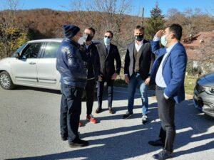 Cerchio, il sindaco Tedeschi incontra l'onorevole Buschini, presidente del consiglio regionale Lazio