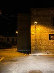 Collarmele, continuano i lavori di rifacimento della pubblica illuminazione