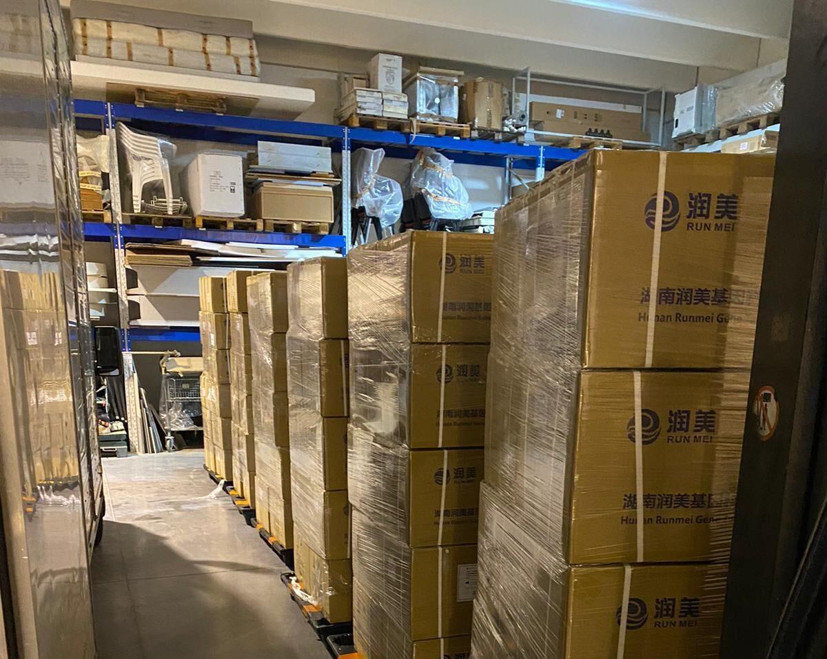 """Regione Abruzzo """"in arrivo quasi 2 milioni di pezzi di tamponi e provette"""""""