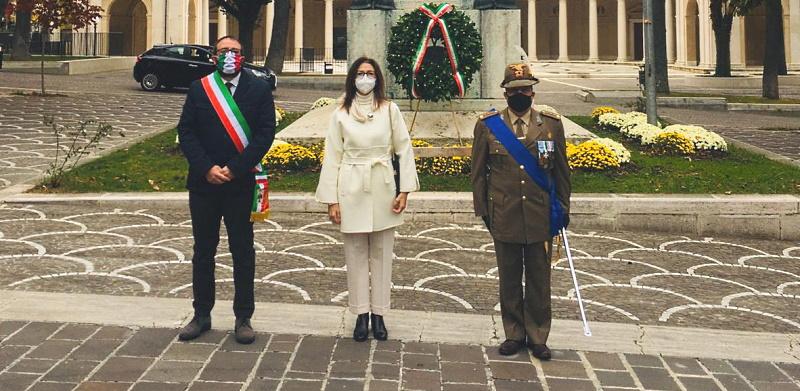 Commemorazione del 4 Novembre. Cerimonia solo a L'Aquila a causa dell'emergenza Covid