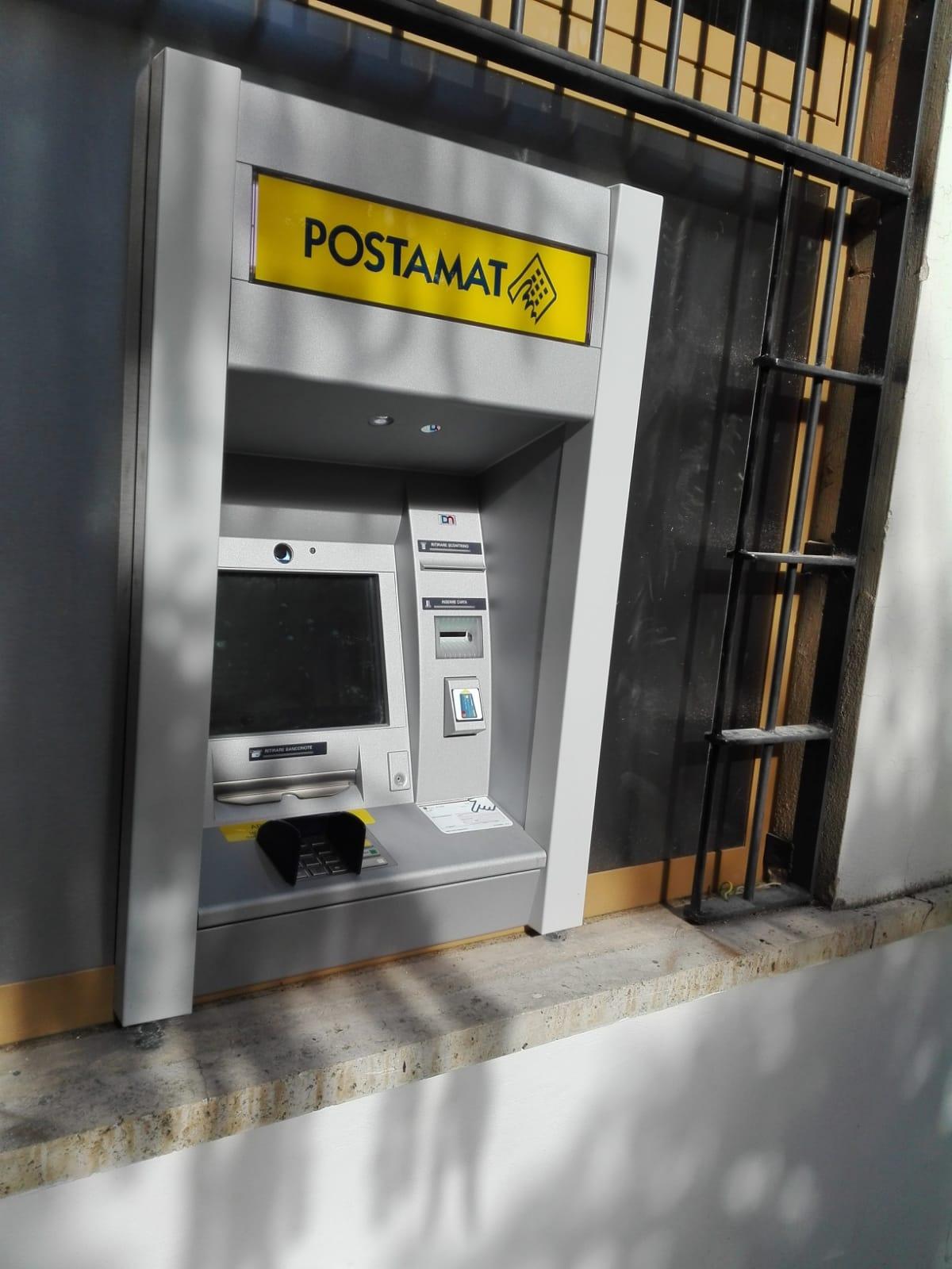 Poste Italiane, un nuovo ATM POSTAMAT per l'ufficio postale di Ortona dei Marsi
