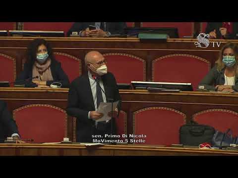 Tracollo della sanità marsicana, il senatore del M5S, Primo Di Nicola, riferisce in Parlamento