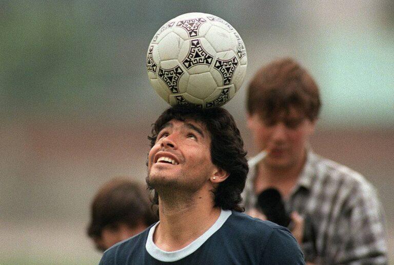 Diego Armando Maradona Getty