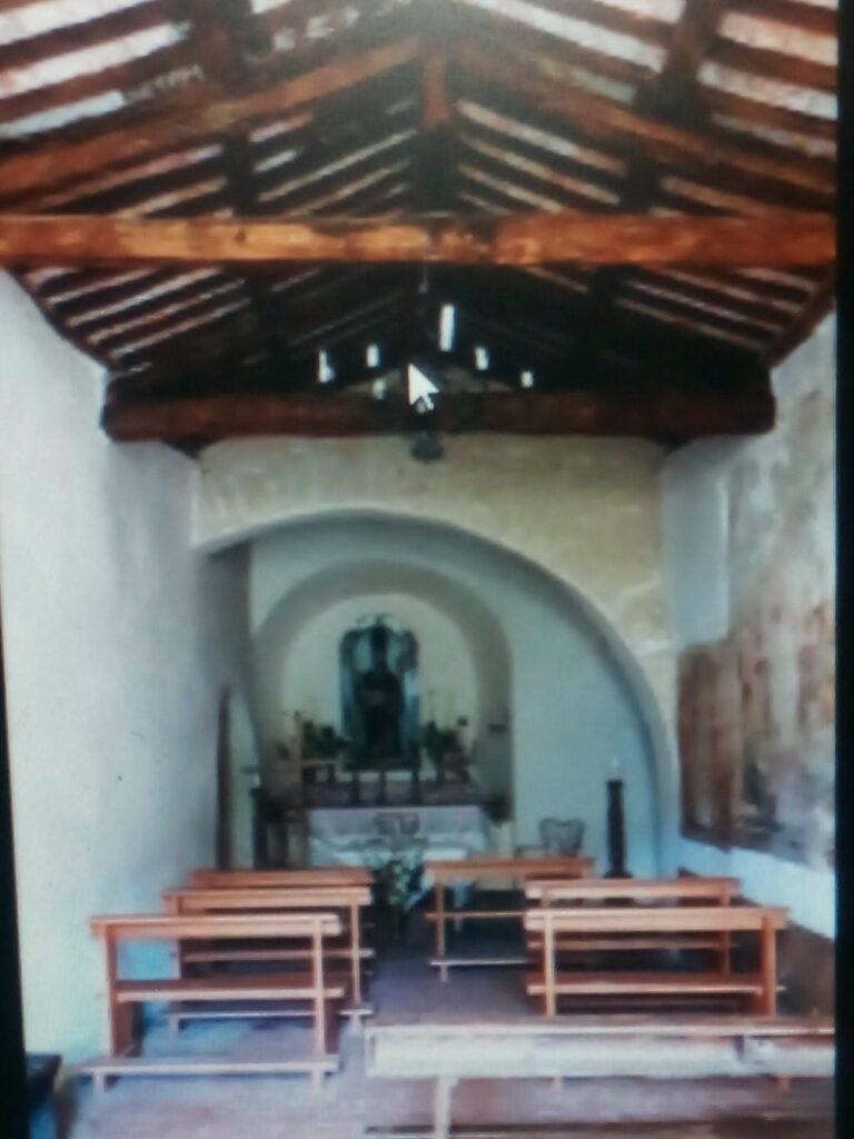 Chiesa di S. Martino di Tours in Villa Romana nel comune di Carsoli