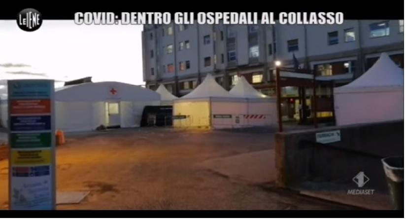 """""""Le Iene"""" dentro l'Ospedale Civile di Avezzano: """"Situazione drammatica"""""""