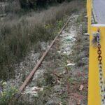 """Avezzano, protesta dei residenti di Via Paganini: """"la strada e la storica ferrovia sono in condizioni di degrado e di abbandono"""""""