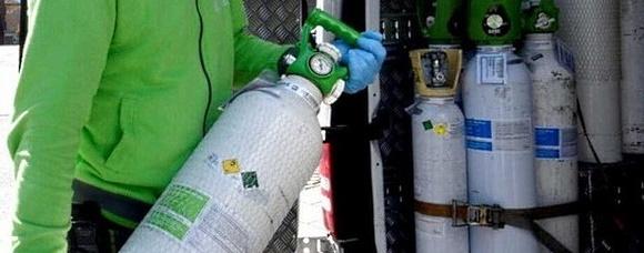La Protezione Civile di San Benedetto dei Marsi per il recupero delle bombole di ossigeno vuote