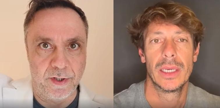 """""""Fate il tampone"""": Gabriele Cirilli e Giorgio Pasotti in un video appello a favore dello screening di massa"""