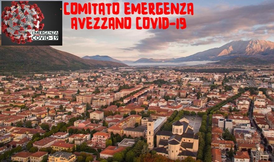 """Il Comitato Emergenza Avezzano Covid-19: """"Ci facciamo portavoce della comunità preoccupata, c'è bisogno di risposte immediate e di decisioni che non possono più essere procrastinate"""""""