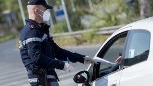 """Denunciato un avezzanese che per eludere i controlli di Polizia dichiarava il falso nell'autocertificazione prevista per l'emergenza """"covid 19"""""""