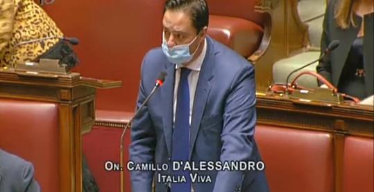 """Camillo D'Alessandro denuncia lo """"scandalo"""" dell'Ospedale di Avezzano in Parlamento"""