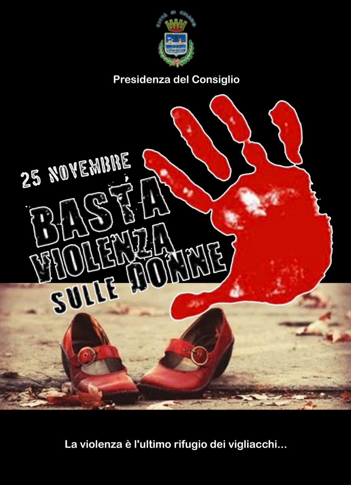"""Celano, Silvia Morelli: """"Basta violenze sulle donne. La violenza è l'ultimo rifugio dei vigliacchi"""""""