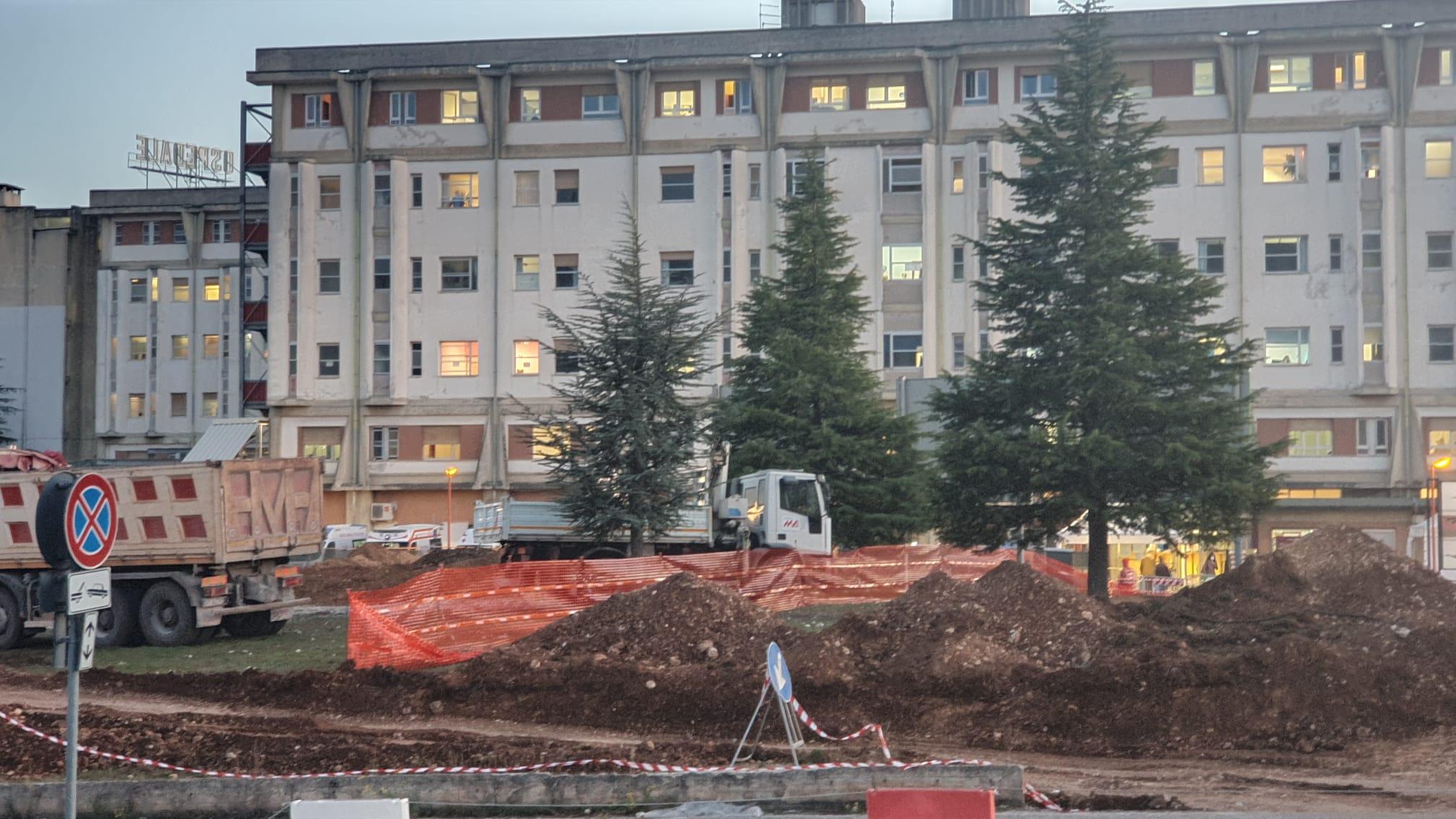 """Ospedale di Avezzano e pazienti Covid. Assessore comunale Colizza: """"si arriverà a 20 posti letto, ma i lavori non sono iniziati"""""""