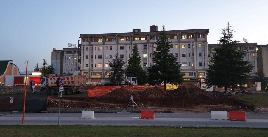 Potenziamento dell'ospedale di Avezzano, ecco l'elenco dei lavori previsti e le tempistiche