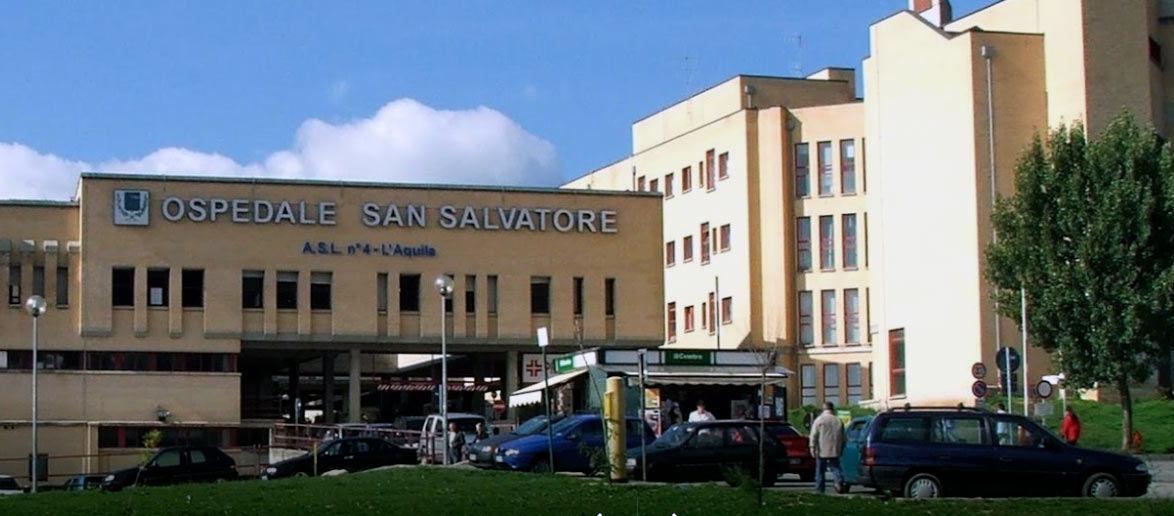 Ospedale San Salvatore di L'Aquila, ristrutturato Reparto Psichiatria: 6 stanze di degenza con due posti letto e altre 3 singole, oltre a spazi per attività ricreative