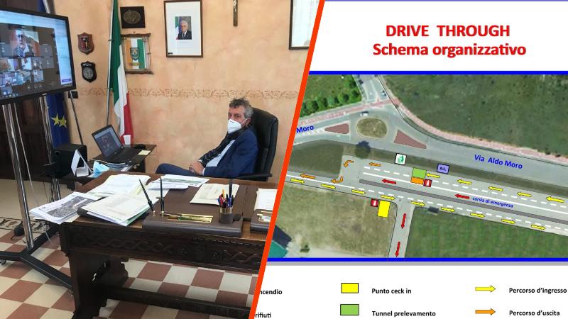 """Avezzano, Di Pangrazio """"Dal 10 novembre in funzione il drive through nel piazzale della chiesa di S. Spirito"""""""