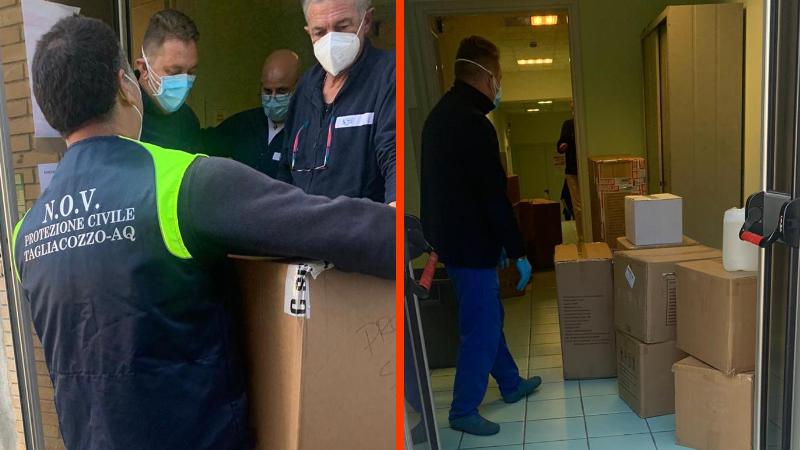Importante focolaio di contagi all'Umberto I di Tagliacozzo, il sindaco e l'Amministrazione comunale fanno arrivare i dispositivi necessari al personale sanitario