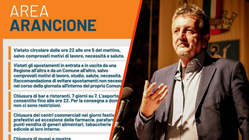 """Di Pangrazio: area arancione ampiamente prevista. Venerdì convocato il """"Parlamento dei Sindaci"""""""
