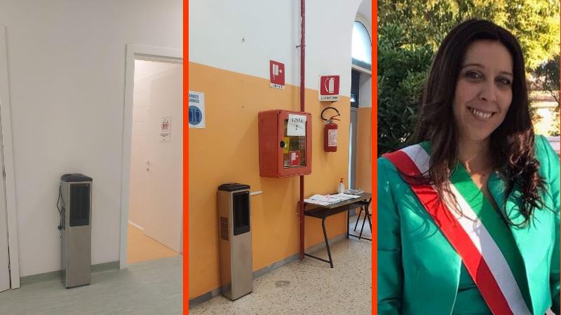 CAM e ACIAM, donano erogatori di acqua potabile e borracce ecologiche alle scuole di Carsoli