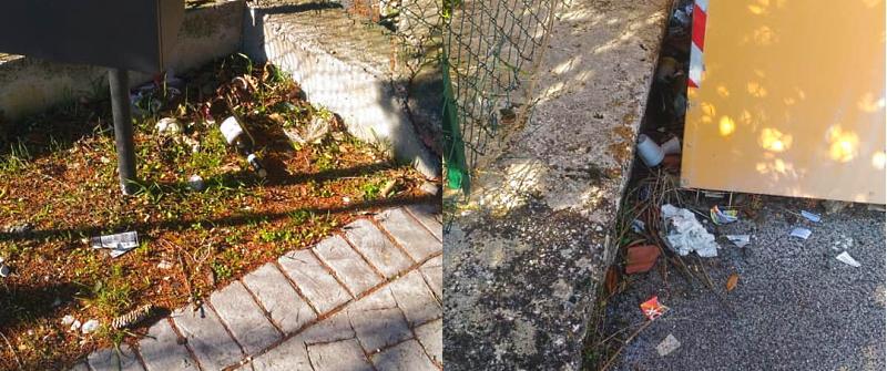 Neanche il Covid ferma gli incivili: rifiuti abbandonati a Civita d'Antino